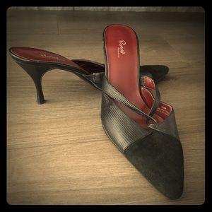 Stiletto Mules Leather